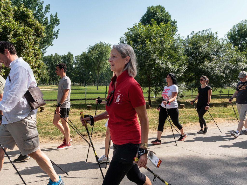 Održan trening nordijskog hodanja na Adi Ciganliji - Zdrava aktivnost koja može da upotpuni ekološki turizam
