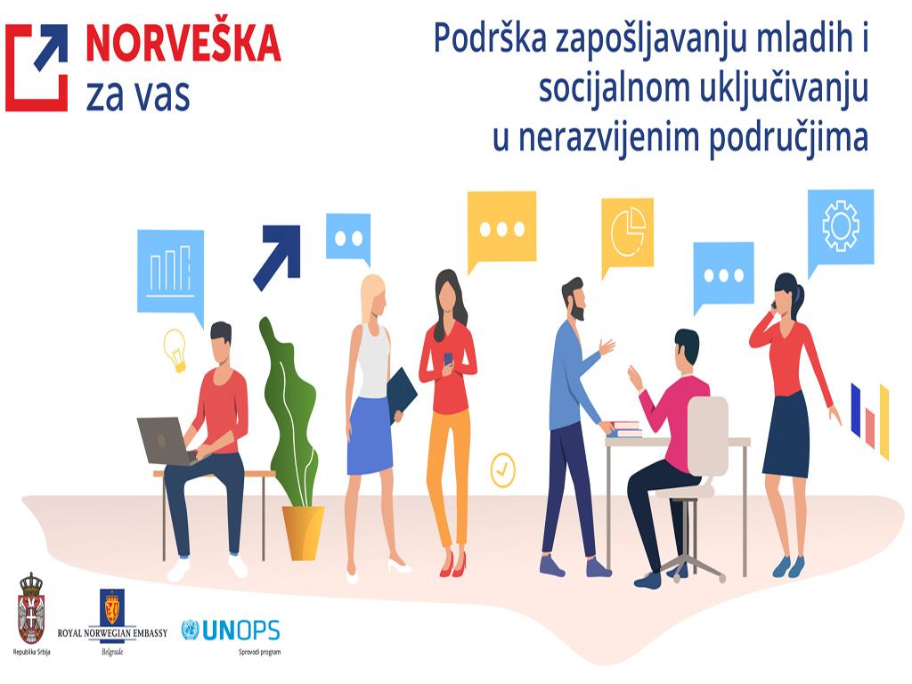 Kako do 500.000 EUR od Norveške za projekte podrške zapošljavanju mladih