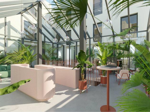Nova Iskra u maju otvara coworking prostor na Dorćolu - U okviru radnog prostora restoran i bar, dečiji kutak...(FOTO)