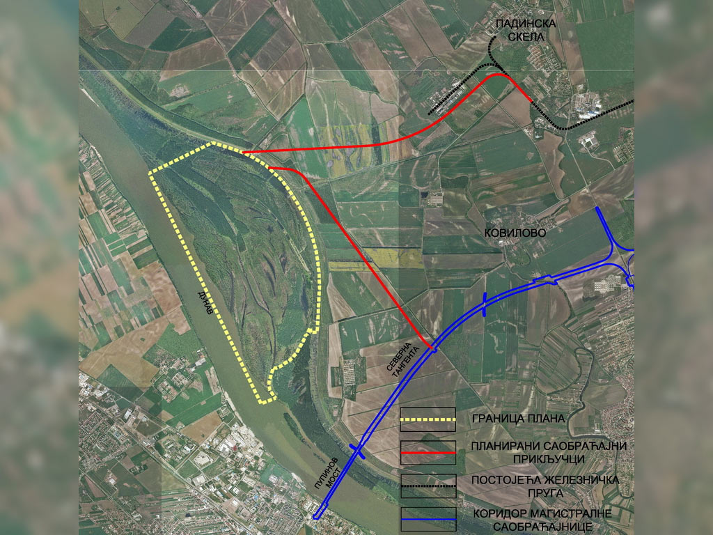 Grand new Belgrade port project presented – Transport-logistics structure on the Danube to spread on 873 ha