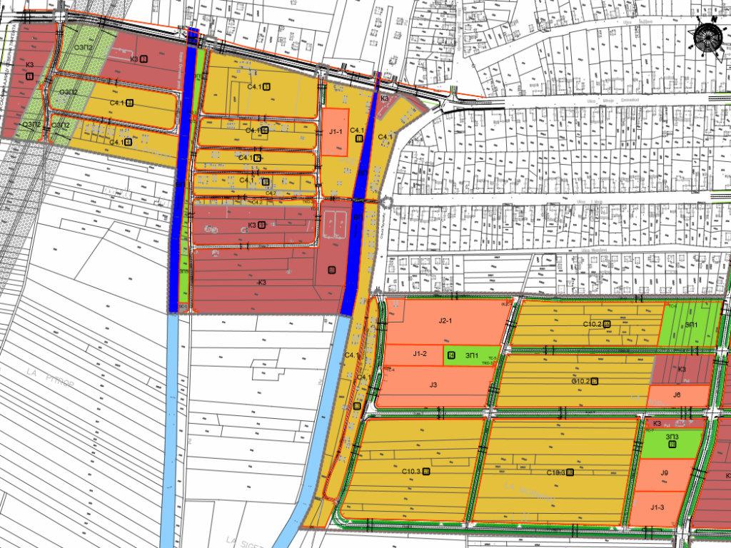 Niče nova Ovča - Južno od postojeće planirana gradnja naselja sa 5.059 stanova za 14.670 stanovnika