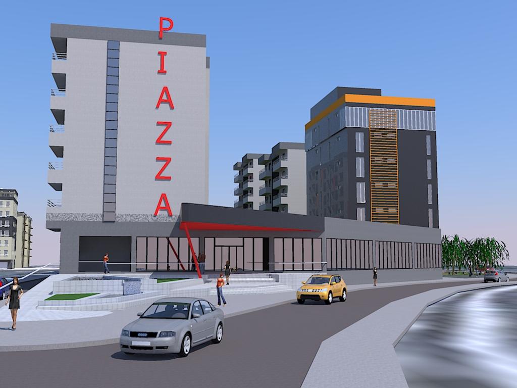 """Kiseljak dobija kompleks """"Nova Piazza"""" vrijedan 9 mil EUR - Na mjestu pijace predviđena izgradnja tržnog centra, garni hotela i 130 stanova (FOTO)"""
