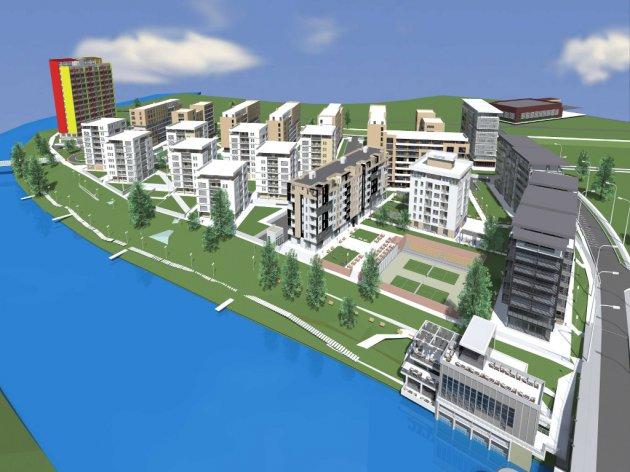 Budući izgled naselja Novi Borik