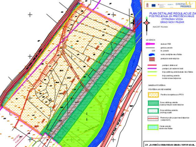Postrojenja za preradu otpadnih voda gradiće se u Novom Pazaru - Požežina će dobiti fabriku na više od 26.000 m2
