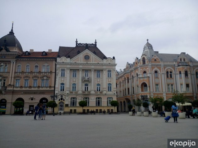 The festival takes place on The Freedom Square in Novi Sad