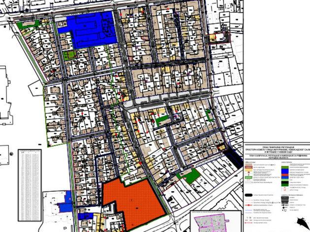 Šta predviđa nacrt plana generalne regulacije u okolini Novosadskog sajma?