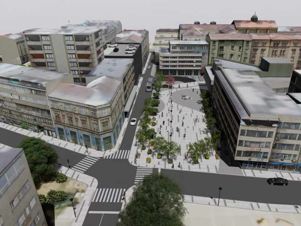 Sarajevo dobija veliki trg u centru grada