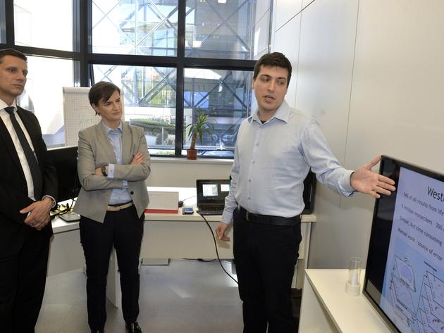 Forschungs- und Technologiepark Belgrad bekommt ein neus Innovationslabor - Regierung kündigt 65 Mio. EUR für Förderung der IT-Branche bis 2021 an