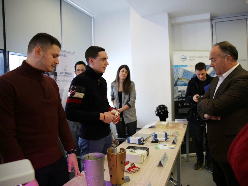 Kompanije u Naučno-tehnološkom parku Beograd prihodovale 20 mil EUR u 2018. godini
