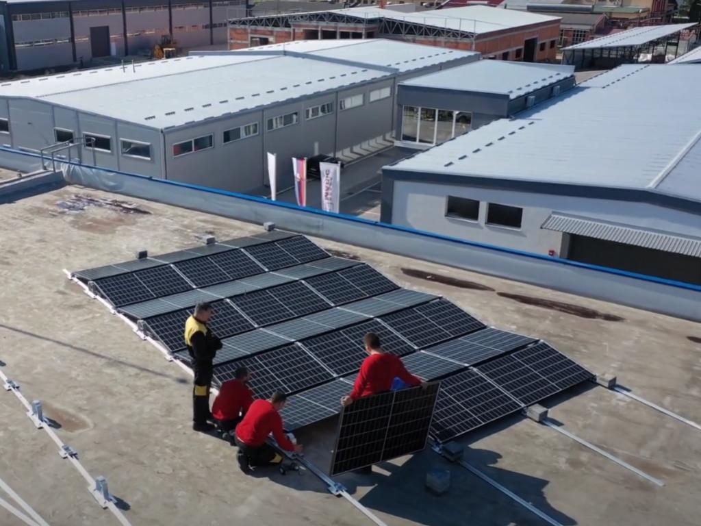 Postavljena solarna elektrana na krov Naučno-tehnološkog parka u Čačku - Energija iz obnovljivih izvora za 12 kompanija