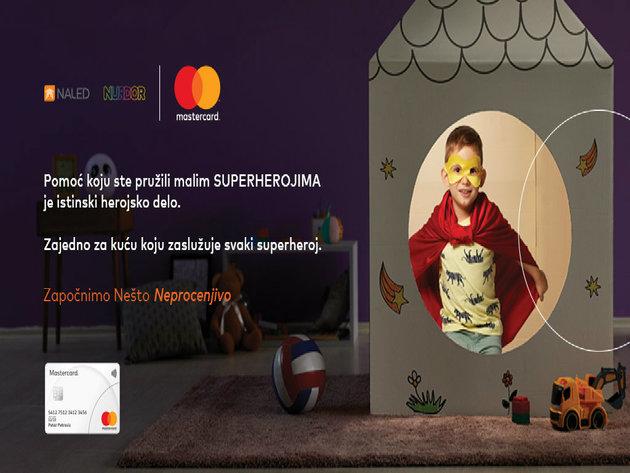 Mastercard donacija za najveću roditeljsku kuću NURDOR