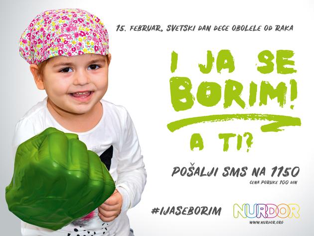 NURDOR obeležava Svetski dan dece obolele od karcinoma - Humanitarni skup 15. februara za novu Roditeljsku kuću u Beogradu