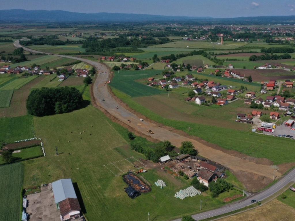 Obilaznica oko Gradiške vrijedna skoro 14 mil KM - U završnoj fazi izgradnja dionice 2