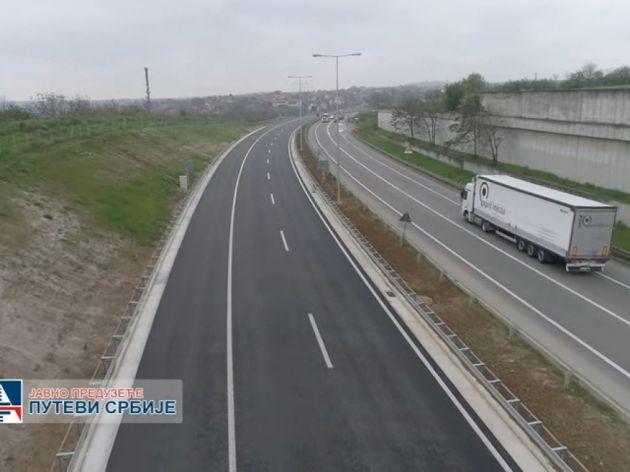 Pogledajte kako izgleda vožnja novom deonicom obilaznice oko Beograda od Ostružnice do Orlovače (VIDEO)