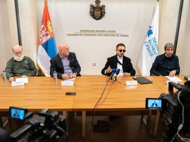 S leva na desno: Jugoslav Vlahović, Siniša Mitrović, Vladimir Lovrić i Zoran Abadić