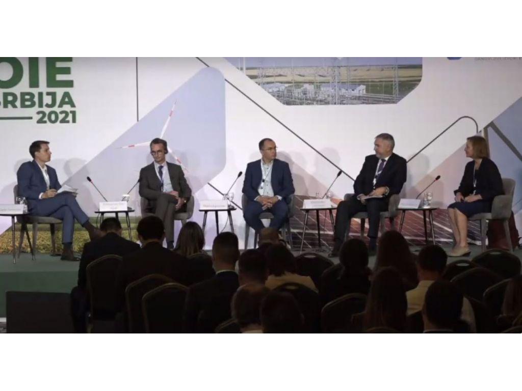 Damir Dimitrijevic – moderator, Emmanuel Van Vyve, Marko Liposcak, Aleksandar Jakovljevic and Bonnie Norman