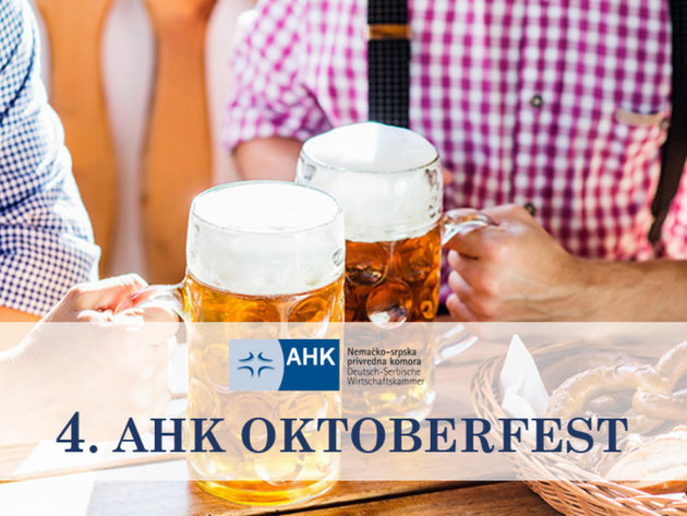 Fourth AHK Oktoberfest in Belgrade on October 10-11
