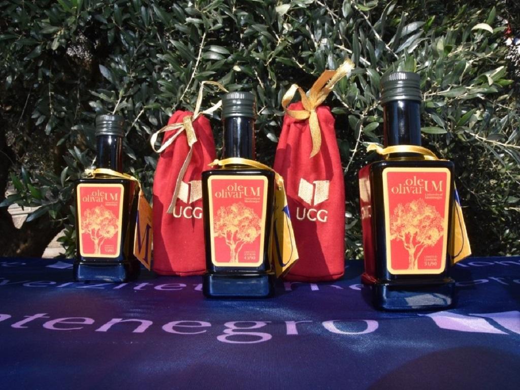 Na UCG proizvedena prva serija brendiranog maslinovog ulja Oleum Olivarum