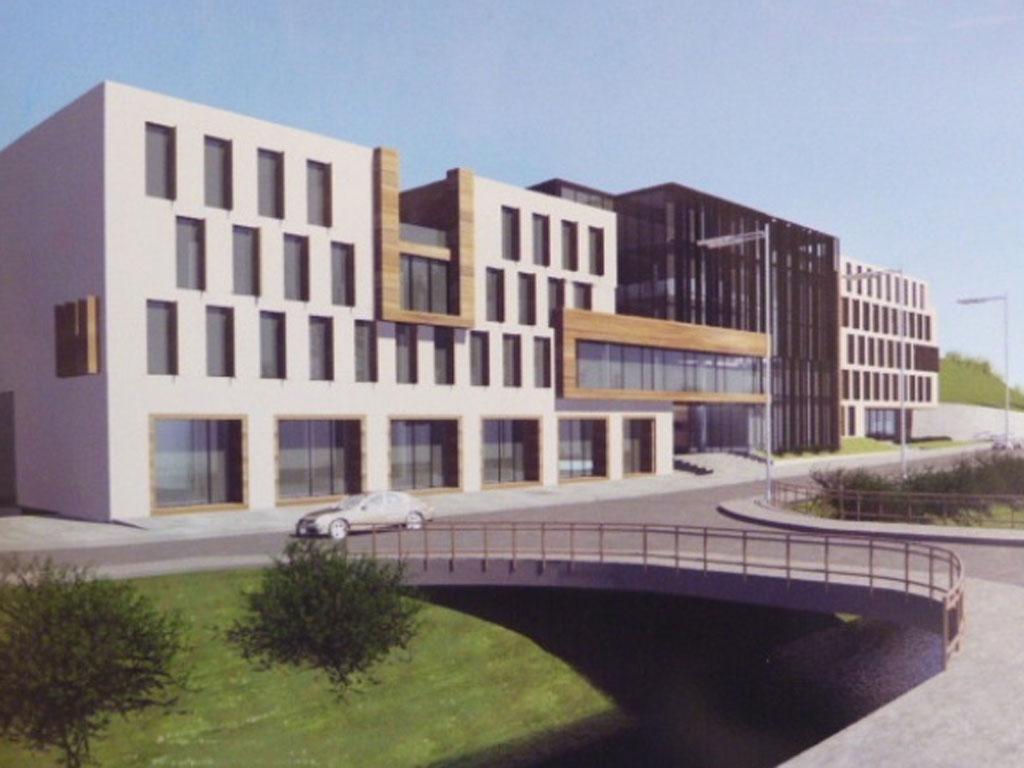 Predstavljeno idejno rješenje nove zgrade Općine Kakanj (FOTO)