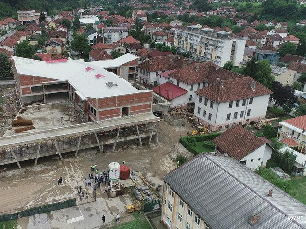 Gradilište OŠ Dušan Korać