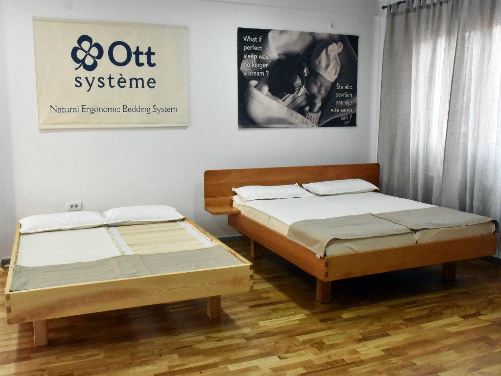 (NOMINACIJA ZA NAGRADU AUREA 2019): OTT Sistem - Prirodan ergonomski sistem za spavanje
