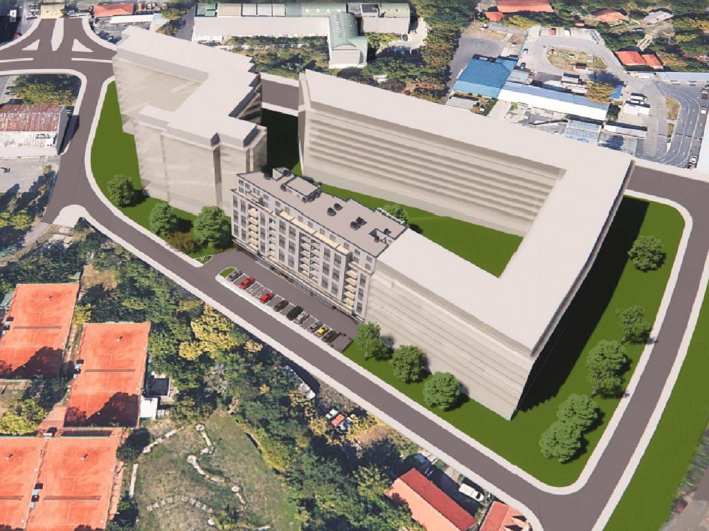 Nova stambeno-poslovna zgrada sa lokalima i biznis-aparmanima gradiće se kod hale Pionir (FOTO)