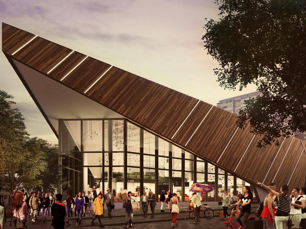 Rekonstruisana pijaca Palilula na 12.000 m2 i četiri nivoa - Čeka se upotrebna dozvola