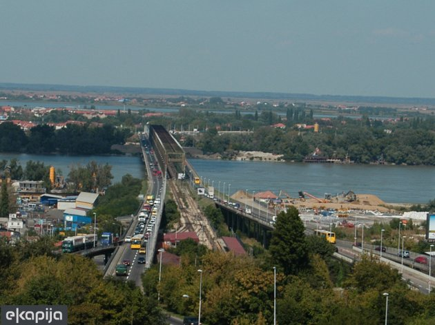 Pancevo Bridge on the Danube