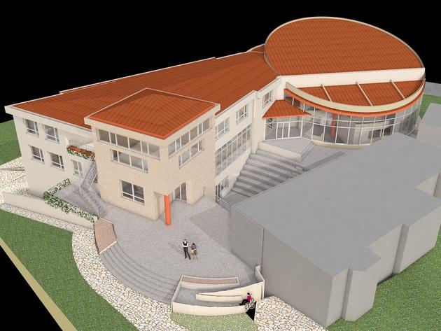 Projektovani izgled Pančićevog centra