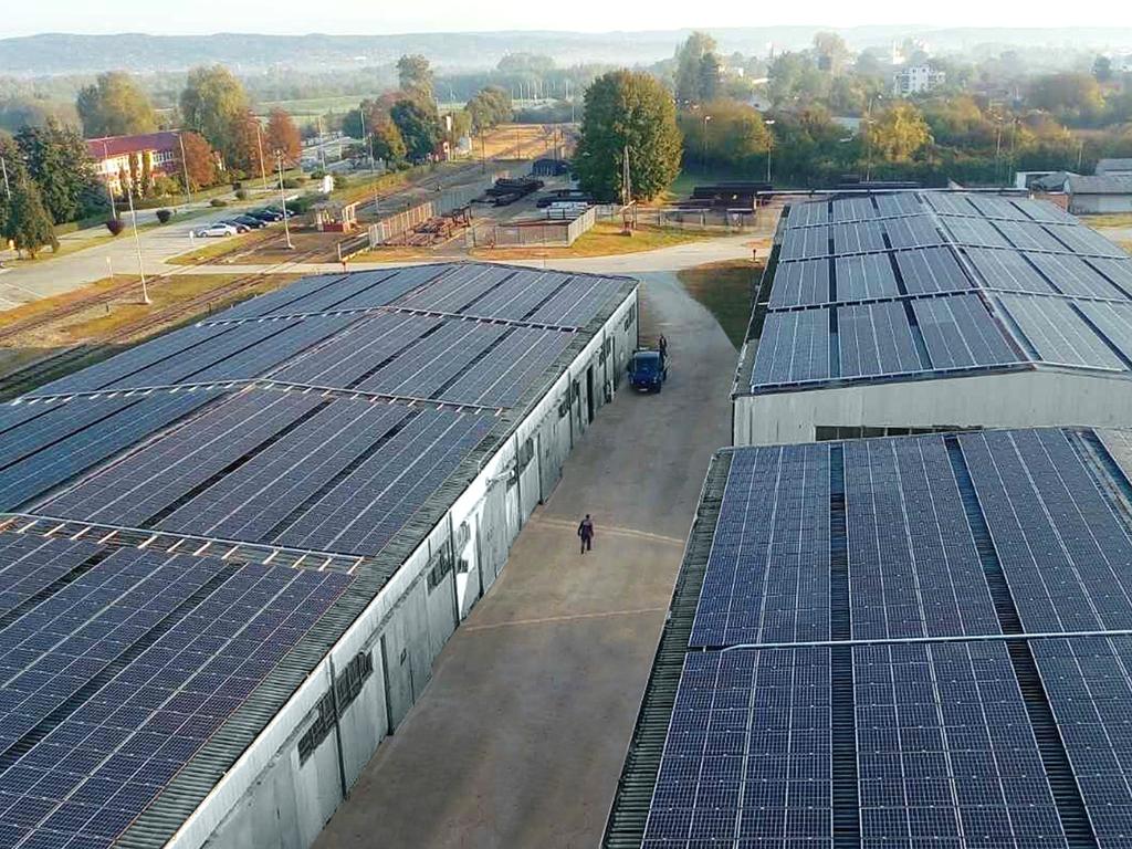 Prvi kilovati struje potekli iz solarne elektrane Rafinerije nafte Brod