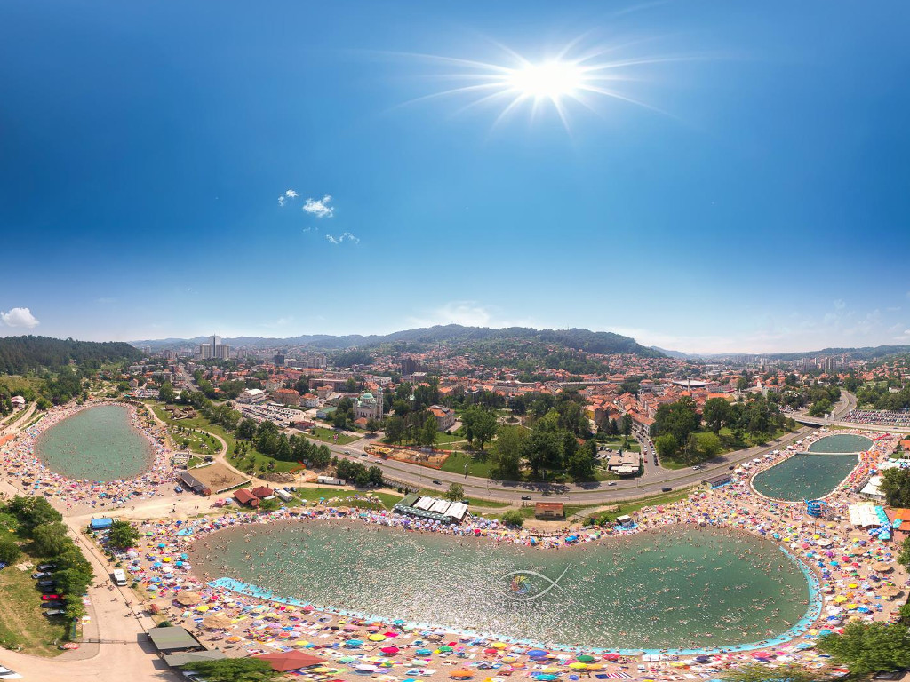 Panonska jezera u Tuzli zabilježila 40.000 posjetilaca za osam dana