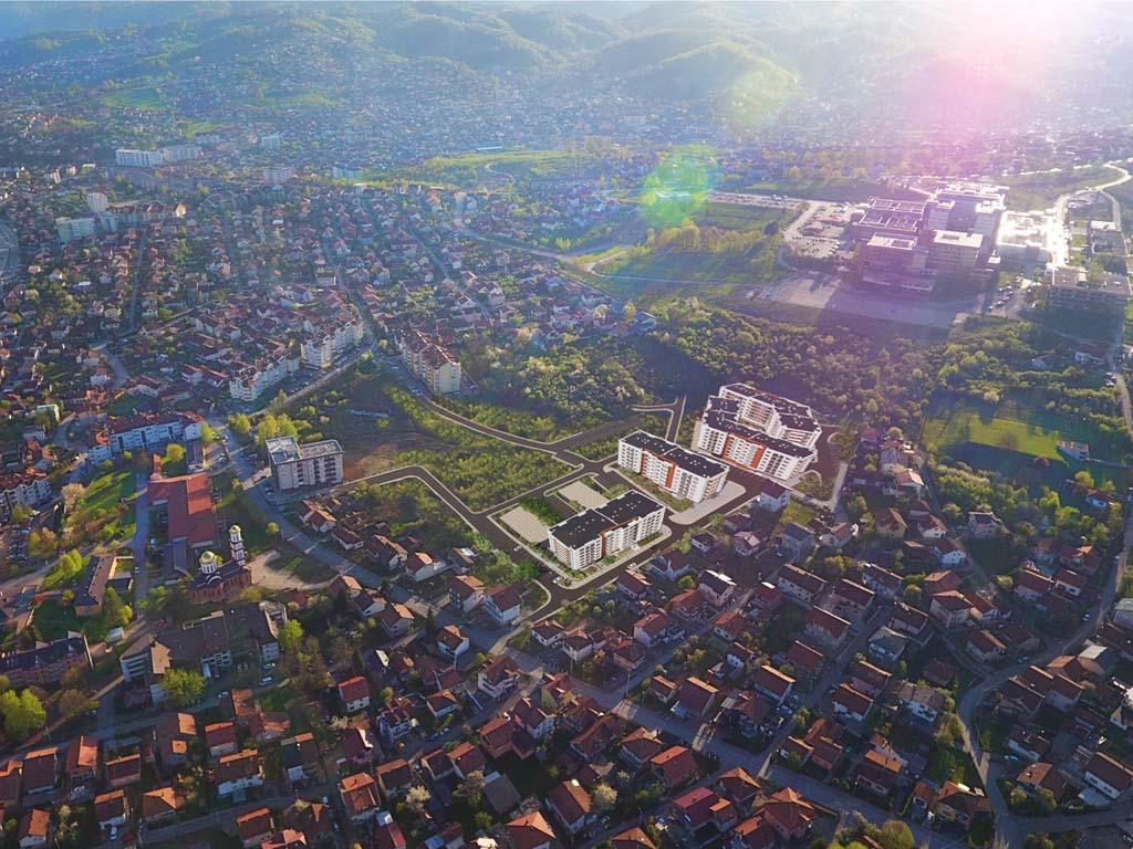 Još jedan moderan stambeni kompleks u Banjaluci - Hidro-kop gradi Panoramu sa 450 stanova (FOTO)
