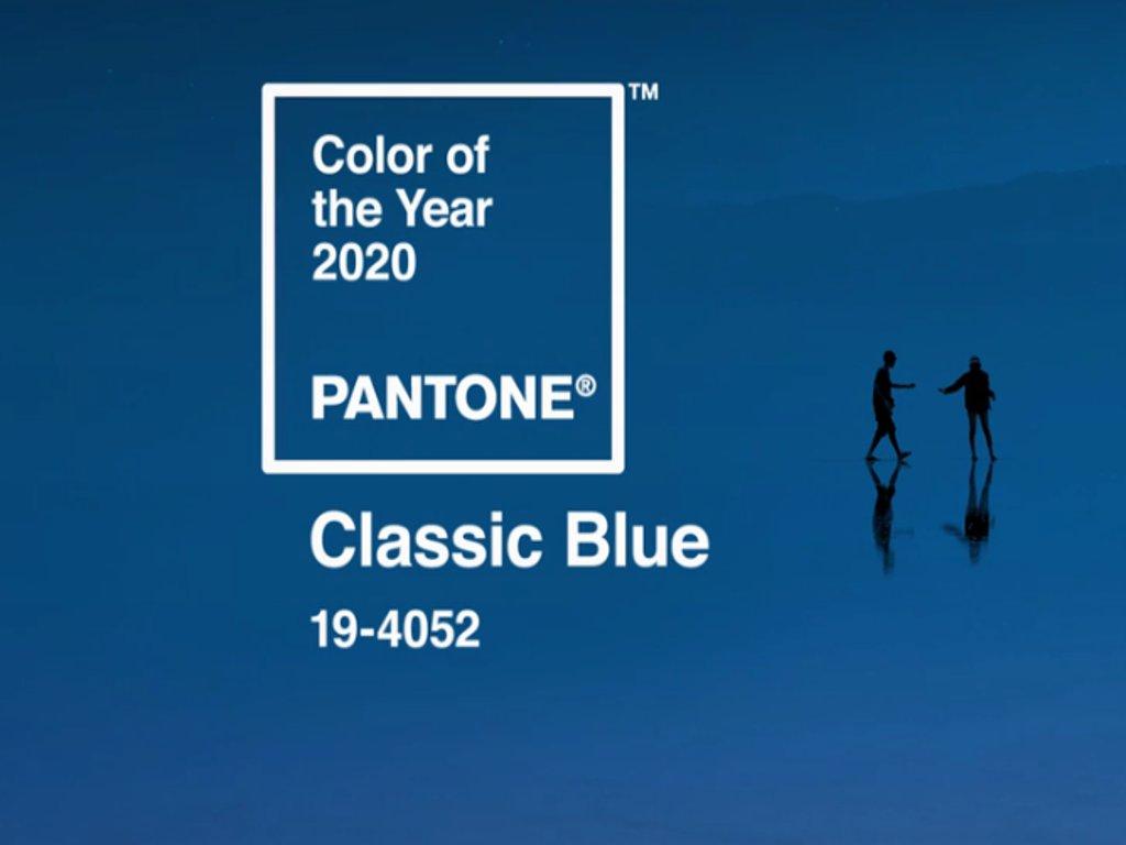 Klasično plava, boja koja će obeležiti 2020.
