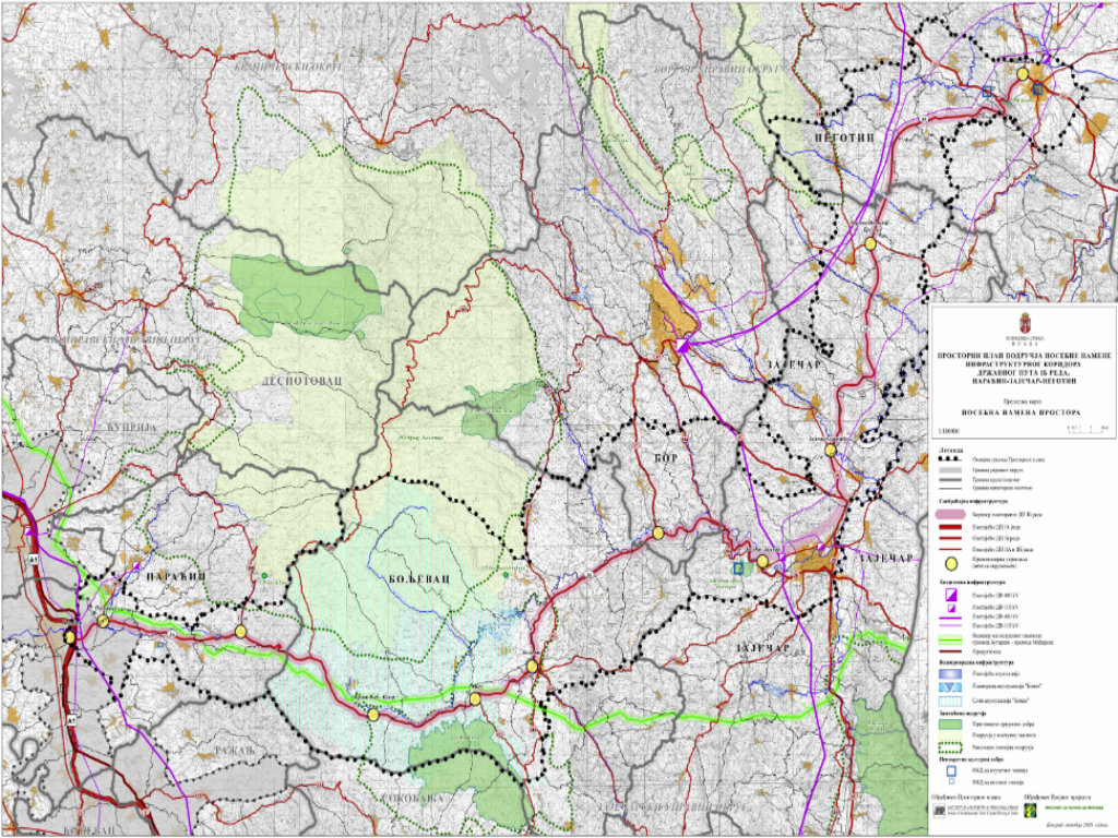 Nova trasa koridora kroz istočnu Srbiju - Pogledajte kuda će prolaziti državni put Paraćin-Zaječar-Negotin