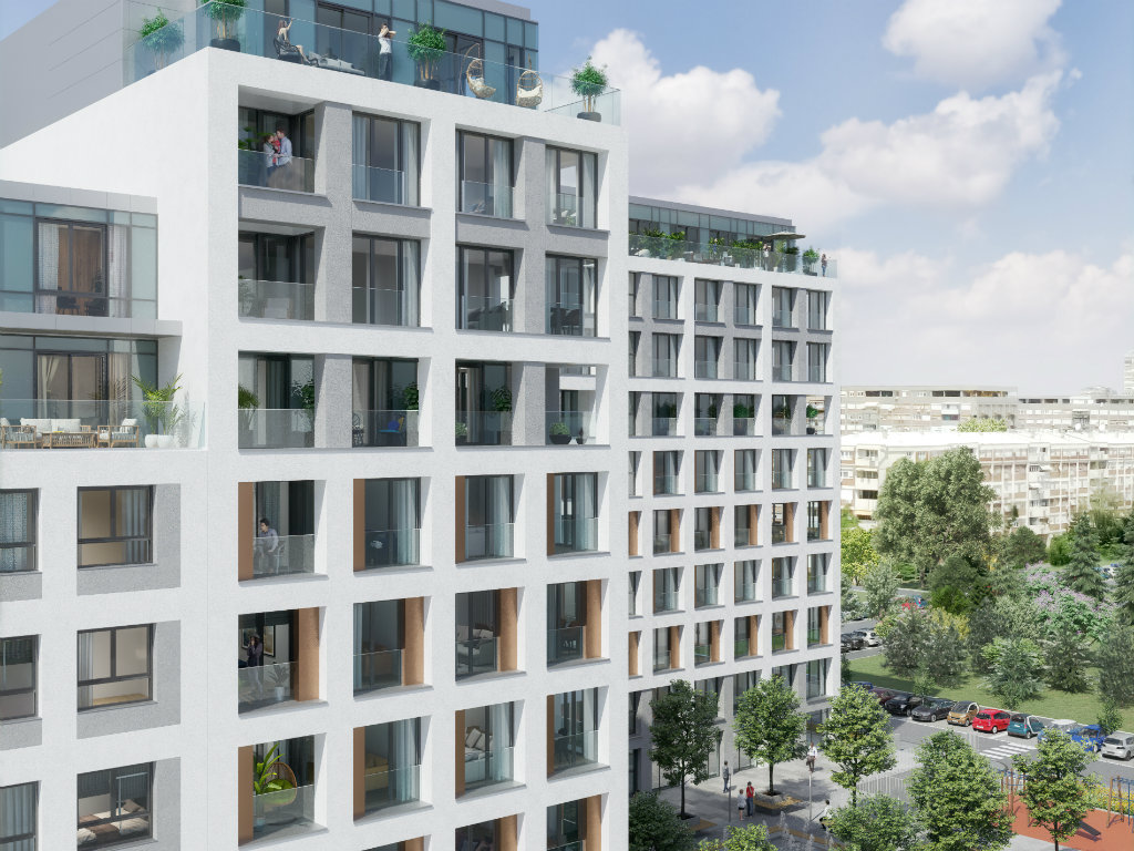 Park 11, a complex in New Belgrade, to be completed in May 2020 – Over 60 apartments sold already