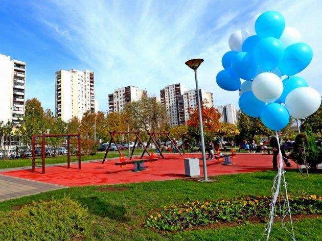 Novootvoreni park