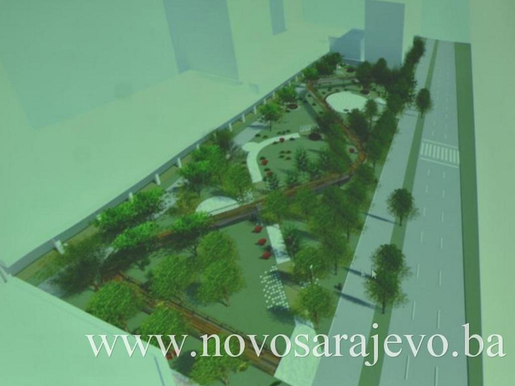 Prezentovan idejni projekat urbanog parka na lokalitetu Parka nacionalnih manjina u Sarajevu