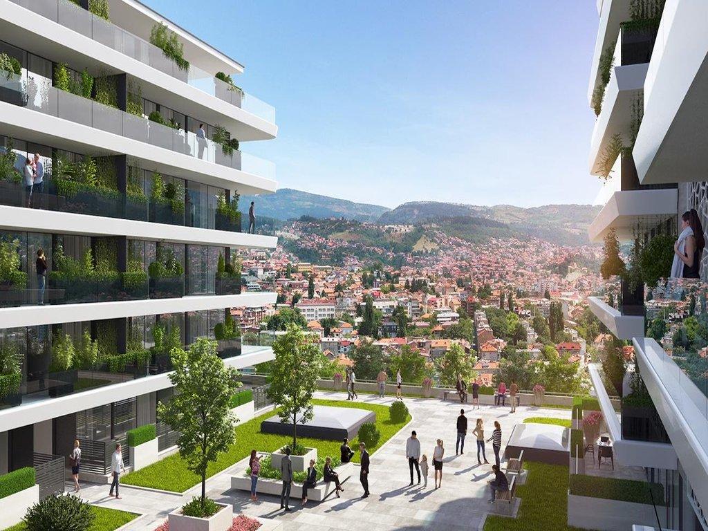 Na proljeće kreće gradnja kompleksa Park Residence iznad Sarajeva - Nekada zapušteno područje postaje oaza urbanog življenja (FOTO)