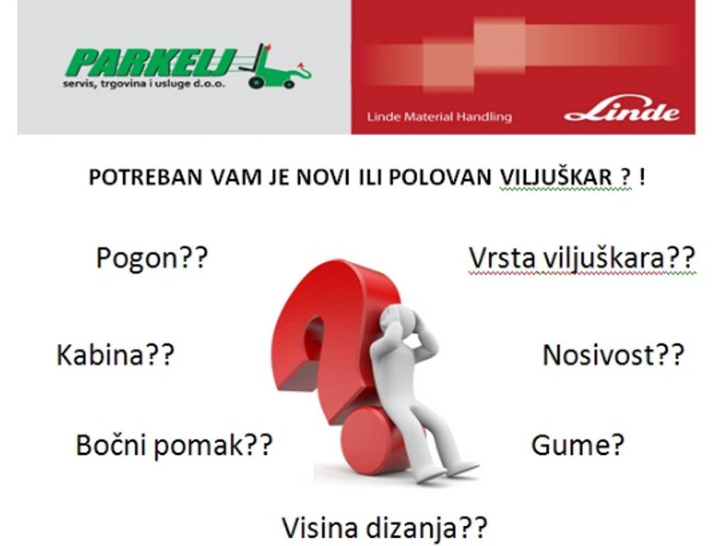 """Potreban vam je novi viljuškar - """"Parkelj"""" predstavlja ponudu na sajmu privrede u Mostaru"""