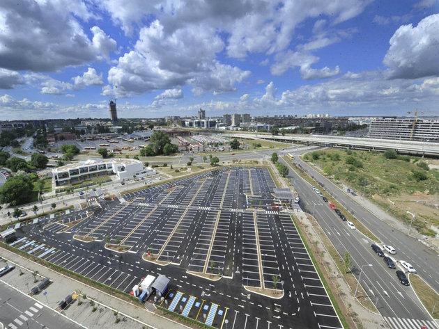 Završena gradnja automatizovanog parkirališta u naselju Belvil za 426 vozila