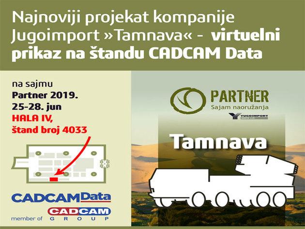 Kompanija CADCAM na sajmu Partner od 25. do 28. juna - Predstavljanje projekta Tamnava uz pomoć virtuelne realnosti