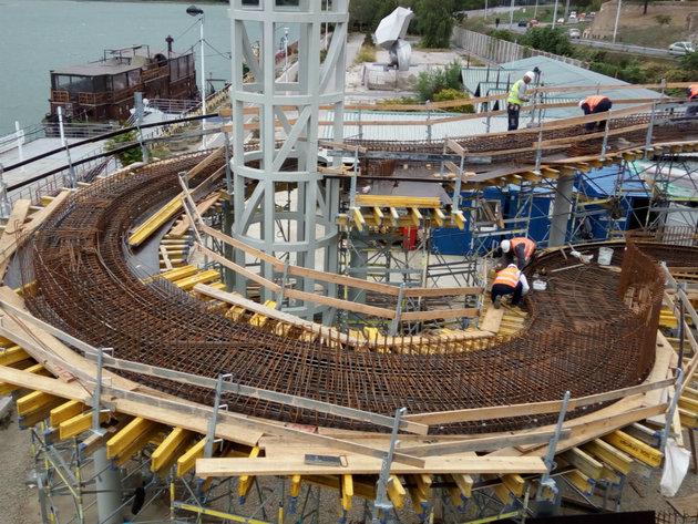 Na proleće 2019. druga faza izgradnje kalemegdanske pasarele