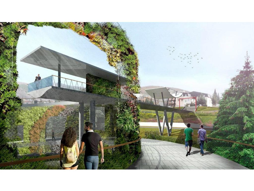 Potpisan ugovor o završnoj fazi izgradnje pješačkog mosta u Mojkovcu - Pasarela će imati podne fontane, zeleni trg i lift nosivosti osam osoba