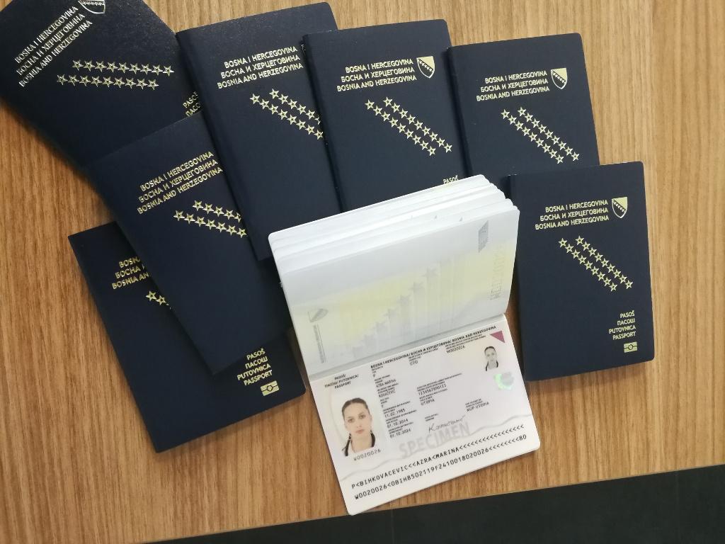 IDDEEA raspisala poziv za izradu 1,6 miliona pasoških knjižica - Nabavka vrijedna više od 30 mil KM