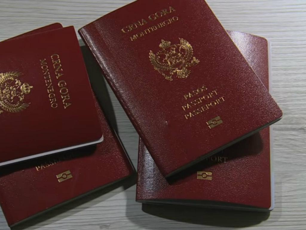 Crnogorski pasoš na 34. mjestu liste Passport Indexa - Bez vize u 123 zemlje svijeta