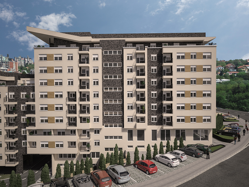 Paunov breg dobija novu zgradu u centru naselja - Useljenje u Trg krajem 2019.