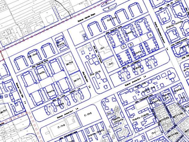Iz Okvira plana detaljne regulacije Novog naselja
