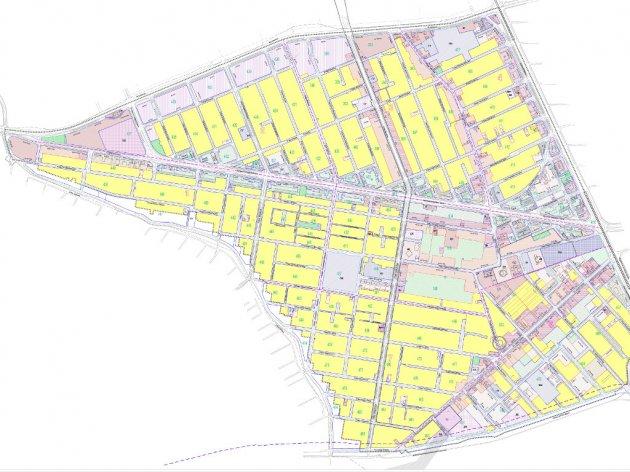 Iz Plana detaljne regulacije naselja Telep