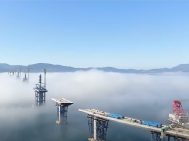 Pelješkim mostom dvije obale biće spojene do novembra (VIDEO)