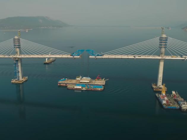 Svečano spojen Pelješki most